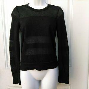 rag & bone Sheer Knit Sweater Top